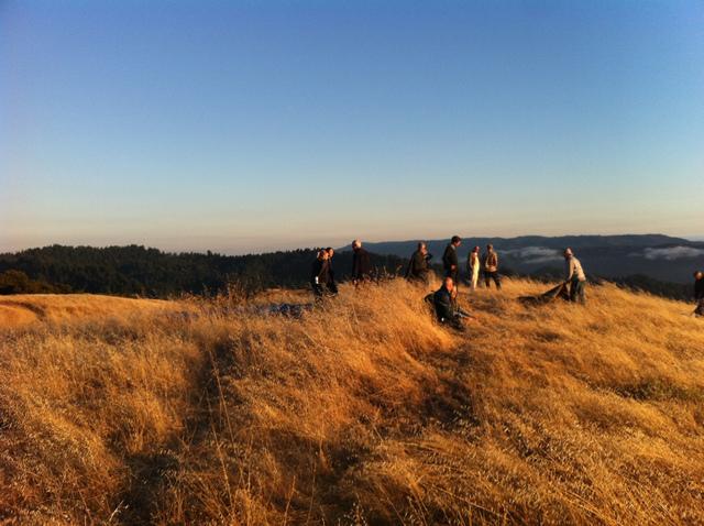 california sunset watching