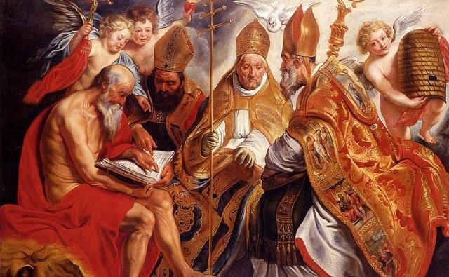 The_Four_Fathers_Of_The_Latin_Church_freecomputerdesktopwallpaper_1600